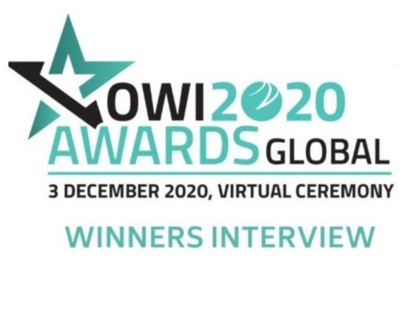 OWI award winners interview with FiberLine Intervention Director, Craig Feherty.