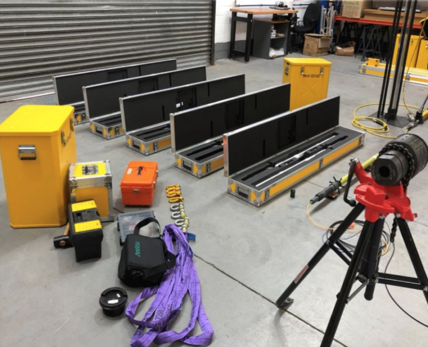 Successful site integration test for a multi-well offshore campaign and photos to demonstrate FLI's tiny footprint