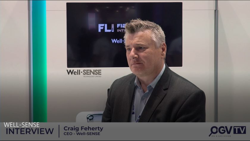 Well-SENSE talks to Oil and Gas Vision at ONS