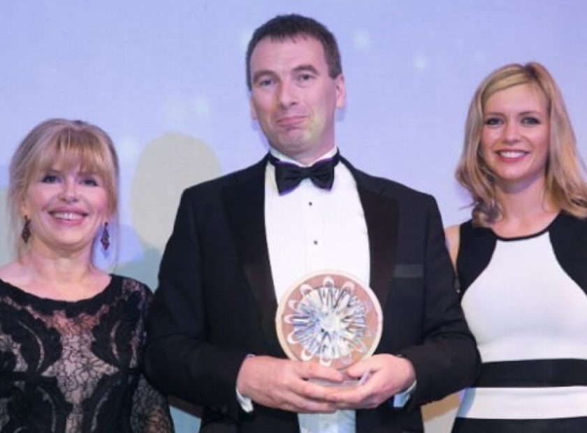 Dan Purkis awarded 'Significant Contribution to Industry' Offshore Achievement Award
