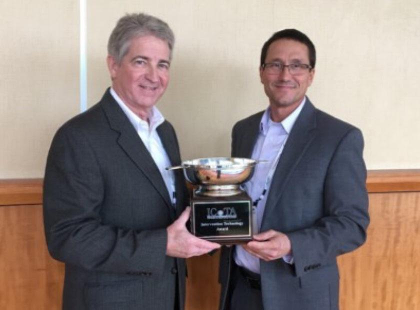 ICoTA International 'Intervention Technology Award' winner