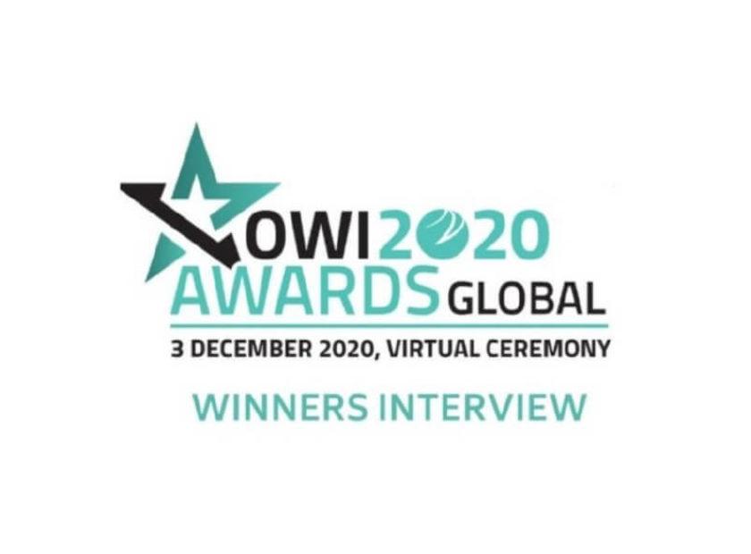 Global OWI – 'Most Impactful Technology Award' winner